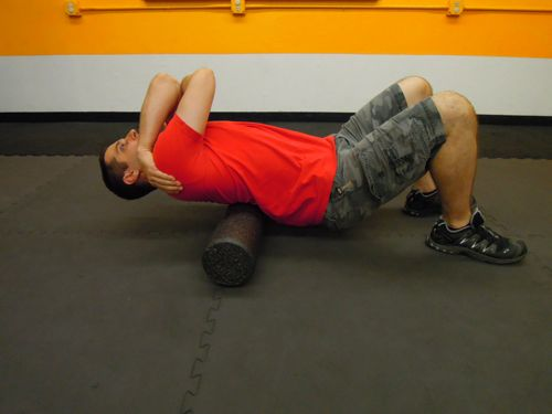 Mobility - T-Spine Smash Extension
