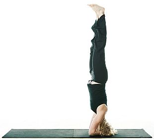 Headstand to Help a Shoulder Injury